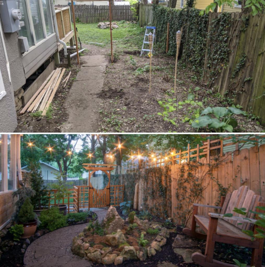 Il cambio del proprio giardino prima e durante la pandemia